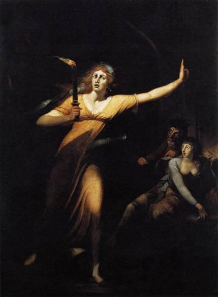 FUSELI John Henry Lady Macbeth